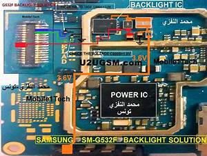 Samsung Galaxy Grand Prime Plus G532f Display Light