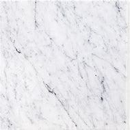White Carrara Marble Tile 12X12