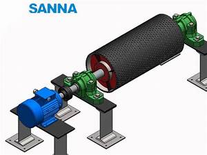 Conveyor Pulley Working Schematic Diagram Sanna