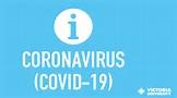 VU's response to the coronavirus (COVID-19) | Victoria ...