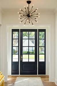 The, Painted, Interior, Front, Door