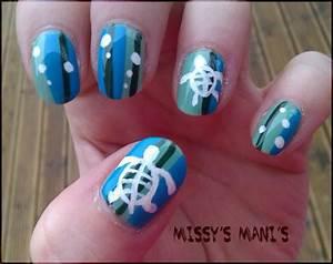 Sea Turtle Nail Art | www.imgkid.com - The Image Kid Has It!