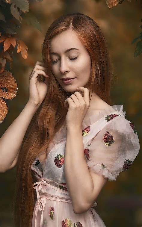 800x1280 Redhead Girl Closed Eyes 4k Nexus 7 Samsung