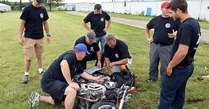 Cars crash, metal crunches and tears but it's all in the name of police training in Lake County