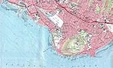 Maps of Honolulu Diamond Head/Waikiki Topographic Map ...