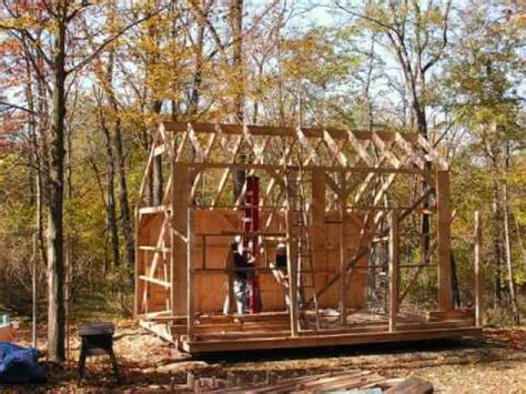 shed material list  cabin plan  loft