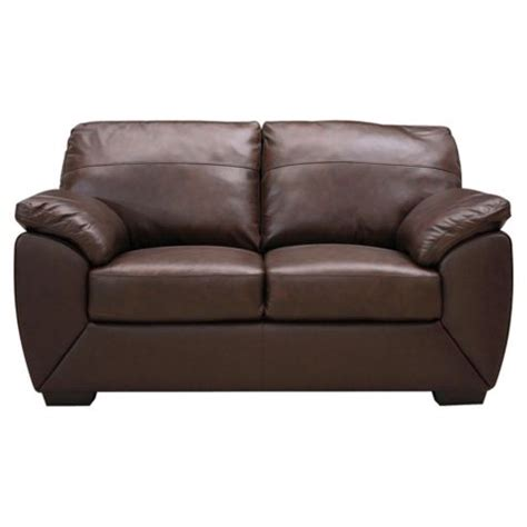 small two seater sofa buy alberta leather small 2 seater sofa chocolate from