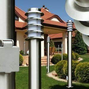 Stehlampe Mit Bewegungsmelder : steckdose wegeleuchte edelstahl garten lampe stehlampe aussen bewegungsmelder ebay ~ Orissabook.com Haus und Dekorationen