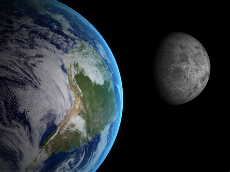The moon formed when Earth collided with a protoplanet ...