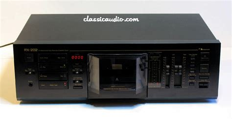 nakamichi deck rx 202 highend nakamichi rx 202 audiophile cassette deck my les
