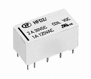 Bistable Latching Relay Dpdt 2  2a  Hongfa