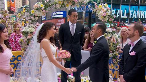 TJ Holmes Marries Couple During the 'GMA' Wide World of ...