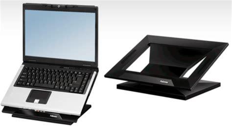 support ordinateur portable bureau un support pour placer portable à la même hauteur qu
