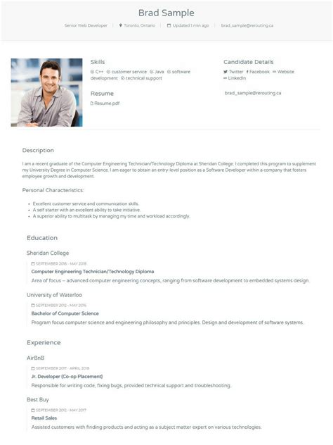 submit profile     recruiter   fill