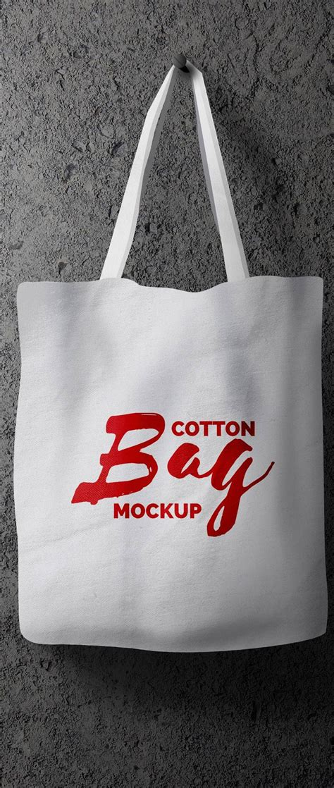 Somehow or the other we all love and enjoy hunting for the best outfits and accessories for ourselves and therefore whenever we get a chance to explore the shops and malls. Free Hanging Cotton Bag Mockup PSD | Download Mockup | # ...