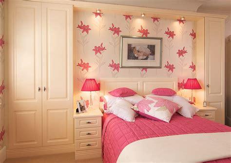 bespoke bedroom in built furniture wardrobe bedside