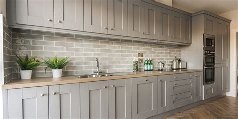 shaker ash  dusk grey gallagher kitchens