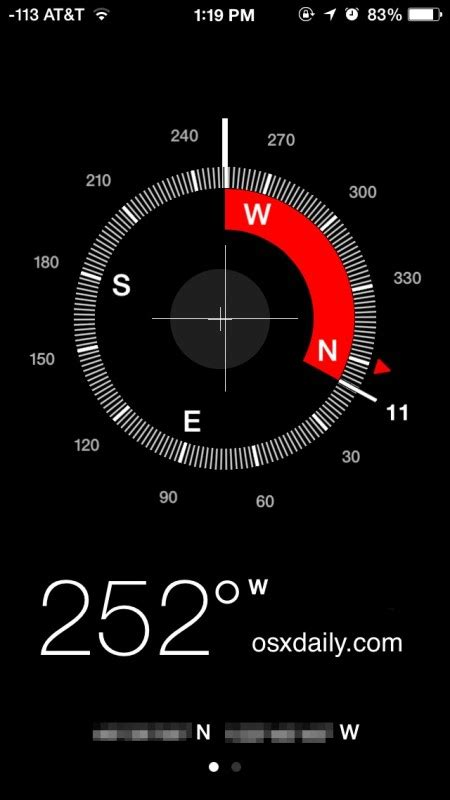 how to use iphone compass lock the compass needle position on an iphone for better