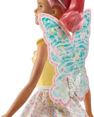 barbie dreamtopia candy fairy doll walmart canada