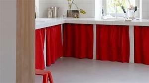 Rideau Pour Placard : tendance on customise ses placards de cuisine ~ Teatrodelosmanantiales.com Idées de Décoration