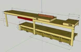 custom plans callsign ktf plans for a custom garage workbench