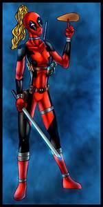 Lady Deadpool - colors by ZethKeeper on deviantART