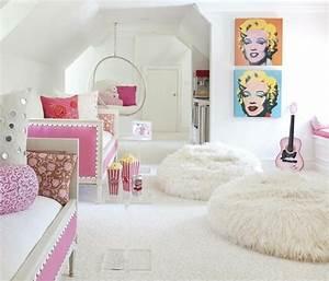 la chambre petite fille en couleurs 20 idees inspirantes With couleur chambre petite fille