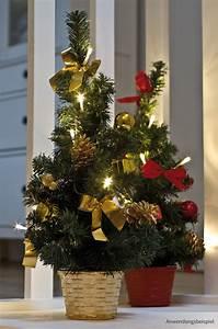 Künstlicher Weihnachtsbaum Klein : kleiner weihnachtsbaum geschm ckt warmwei e lichterkette rote deko 45 cm kaufen matches21 ~ Eleganceandgraceweddings.com Haus und Dekorationen