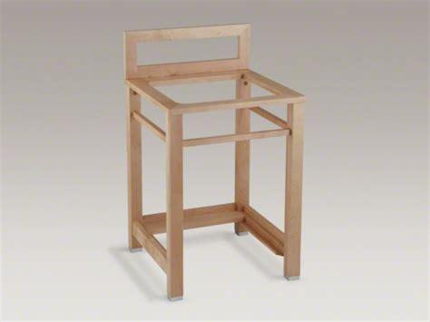 kohler utility sink stand kohler bayview wood sink stand diy