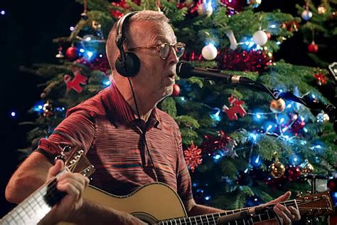 Watch Eric Clapton's New 'white Christmas' Video