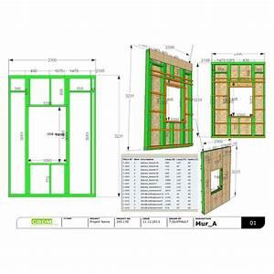 logiciel plan maison ossature bois gratuit avie home With conception plan maison gratuit