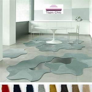 dalle de tapis design modulable bloom par vorwerk With tapis de salon ovale