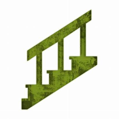 Stairs Clipart Staircase Rail Stair Hand Icon