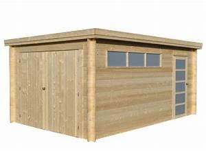 Garage Bois 20m2 : abri garage en bois 28 mm ~ Melissatoandfro.com Idées de Décoration