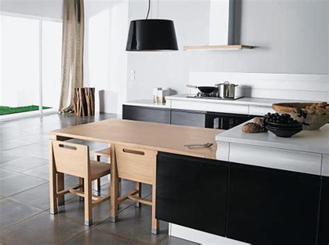 cuisine bois laqué une cuisine moderne en bois c est possible le d