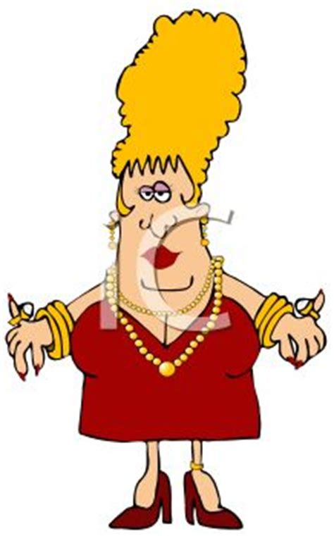 Mean Old Rich Lady Clipart - Clipart Suggest