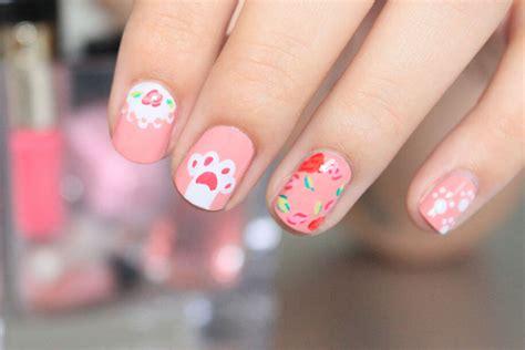 Pastel Pink Nail Art