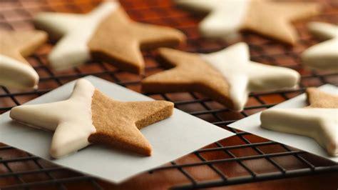 gingerbread stars recipe pillsburycom