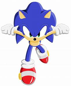 Sonic Running by bluexbabex1o7 on DeviantArt