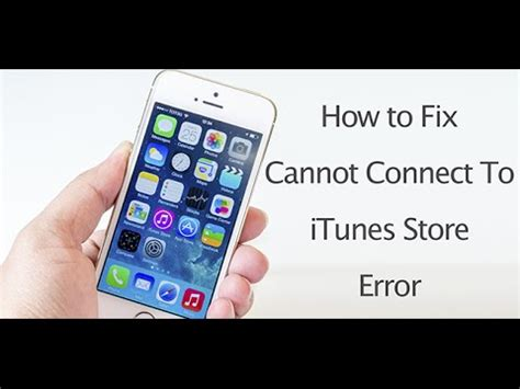 how do i connect my iphone to my tv fix cannot connect to itunes error on iphone