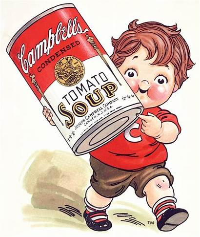 Campbell Soup Retro Ads Tomato Campbells Kid