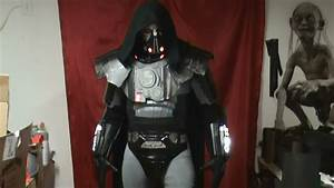 Darth Malgus - First Costume Test - YouTube