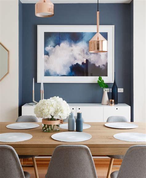 blue feature wall ideas  pinterest blue