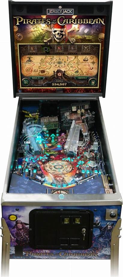 Pinball Pirates Caribbean Machine Jersey Jack Machines