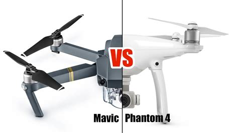 dji mavic pro  phantom  video quality comparison