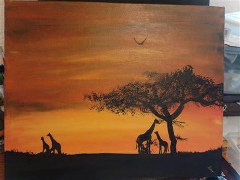 savannah background class art projects art projects