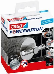 Tesa Bilder Aufhängen : tesa 59343 tesa powerbutton haken deluxe rund matt bei reichelt elektronik ~ Orissabook.com Haus und Dekorationen