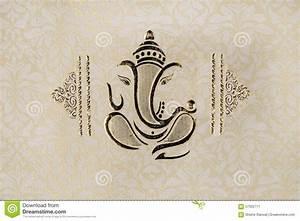 wedding invitation card editorial photo image of greeting With wedding invitation templates with ganesh