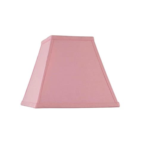 what is a spider l shade spider square pink l shade sh9619 destination lighting