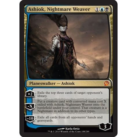 ashiok nightmare weaver magic the gathering from magic